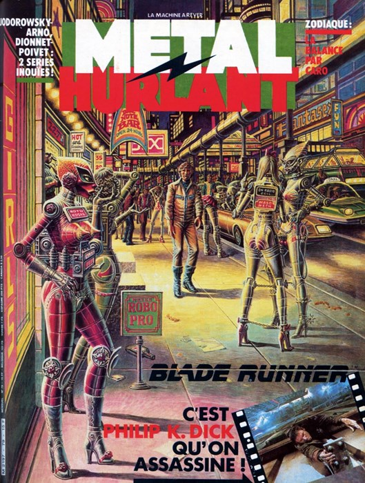 The French sci-fi comic that inspired Blade Runner and Akira