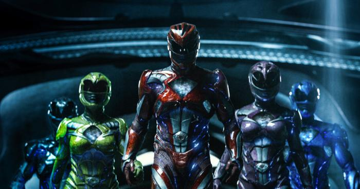 Tercer trailer de Power Rangers y spot