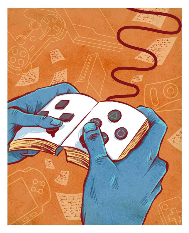 ¿Te gustaría ser guionista de videojuegos?