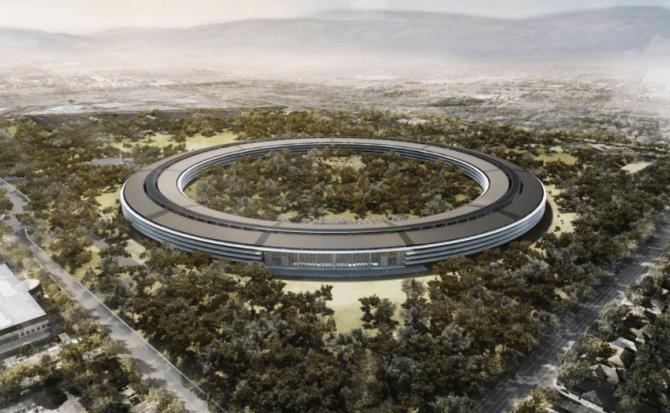 El nuevo campus de Apple está listo y abrirá sus puertas en abril