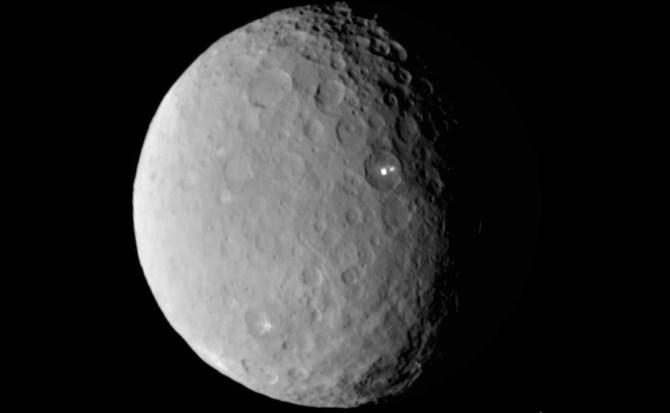 """Descubren en Ceres por primera vez los """"ingredientes"""" necesarios para la vida"""