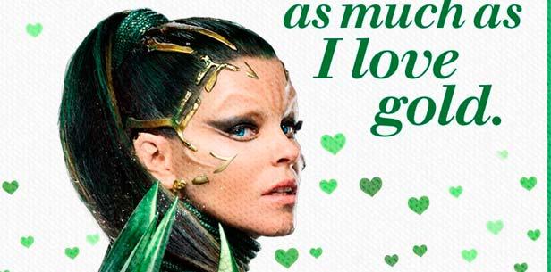 Power Rangers: Rita Repulsa nos felicita San Valentín 2017 en nuevo cartel