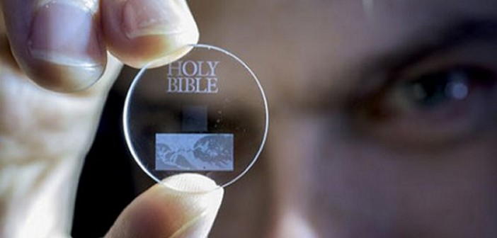 Tiny 5D data storage disc can store 360TB of data and last for billion of years