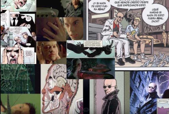 MATRIX ES UN PLAGIO DE LOS INVISIBLES DE GRANT MORRISON DC VERTIGO COMICS