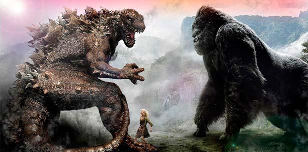 Godzilla Vs Kong: Un nuevo equipo de guionistas están desarrollando el monsterverse