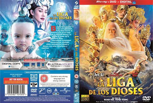 League of Gods - La Liga De Los Dioses-CoveRdvdGratiS.Com V1