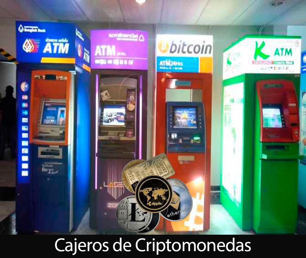 CAJEROS AUTOMÁTICOS DE CRIPTOMONEDAS
