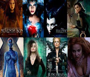 Personajes femeninos – villanas del cine